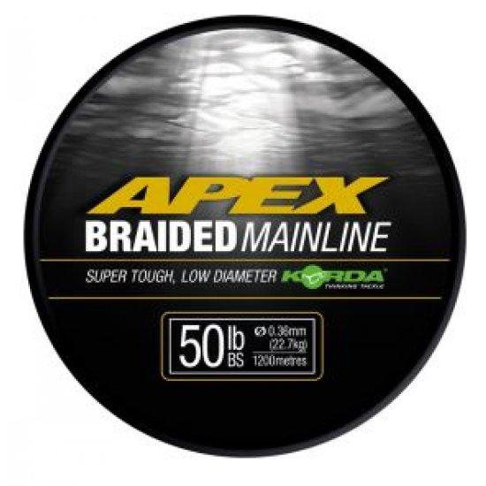Korda Apex Braided Mainline 50lb 1200m