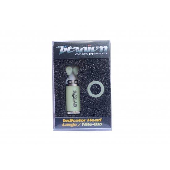 Solar Titanium Indicator Head Large Nite-glo