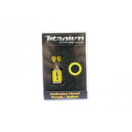 Solar Titanium Indicator Head Small Yellow