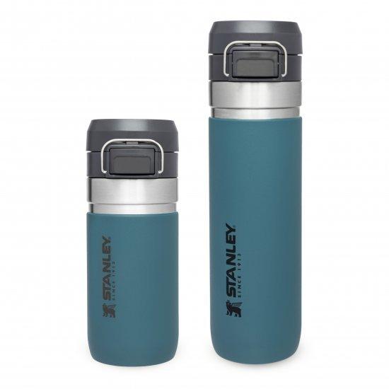 Stanley Quick Flip Water Bottle Lagoon 0.47L
