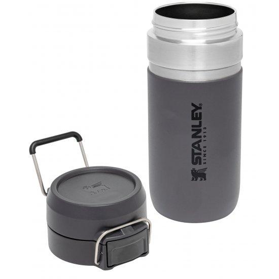 Stanley Quick Flip Water Bottle Charcoal 0.47L