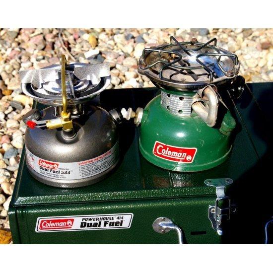 Coleman Unleaded Sportster Stove 533 1Pits 2800 Watt