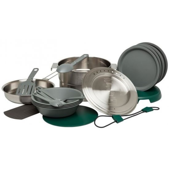 Stanley The Full Kitchen Base Camp Cook Set 3.5L Stainless Steel